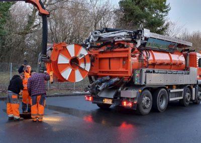 Camion pompage suisse environnement